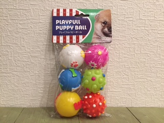 Playfull Puppy Ball